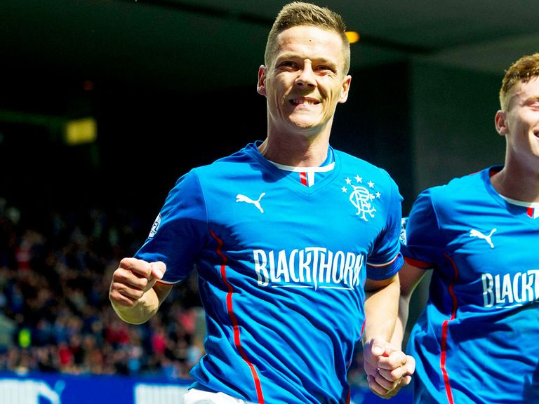 Ian Black: Rangers midfielder is accused of betting against his own club