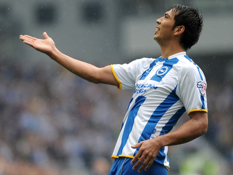 Leonardo Ulloa: Happy at Brighton