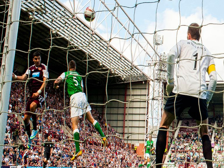 Hearts v Hibs could take on extra significance this Sunday