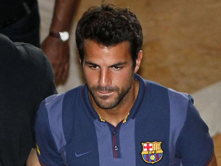 Cesc Fabregas: Wants to stay with Barcelona