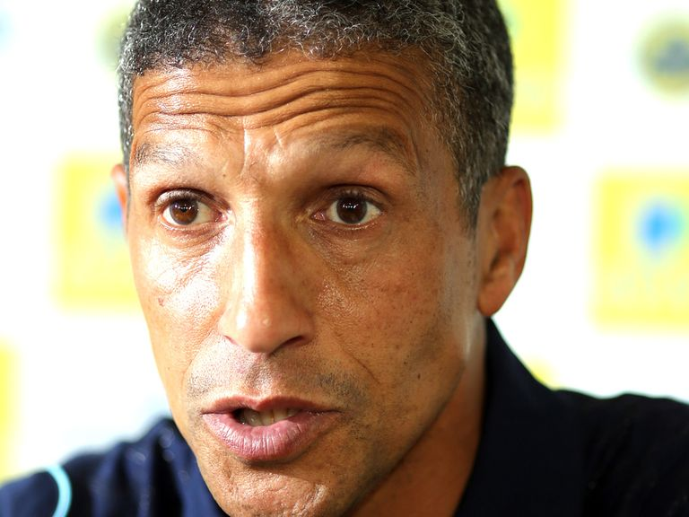 Chris Hughton: Acknowledged modest start by Canaries