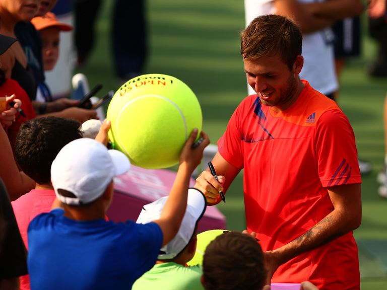 Dan Evans has some new fans after defeating Tomic