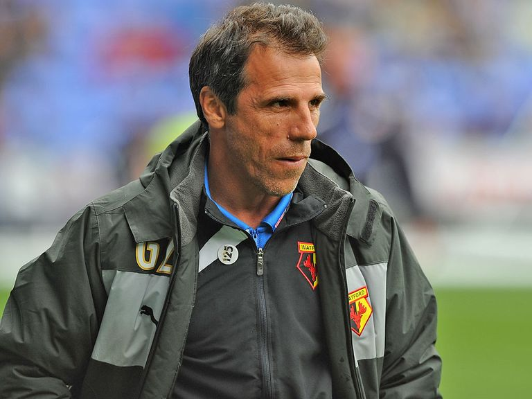 Gianfranco Zola: Watford boss linked with the vacant Sunderland job