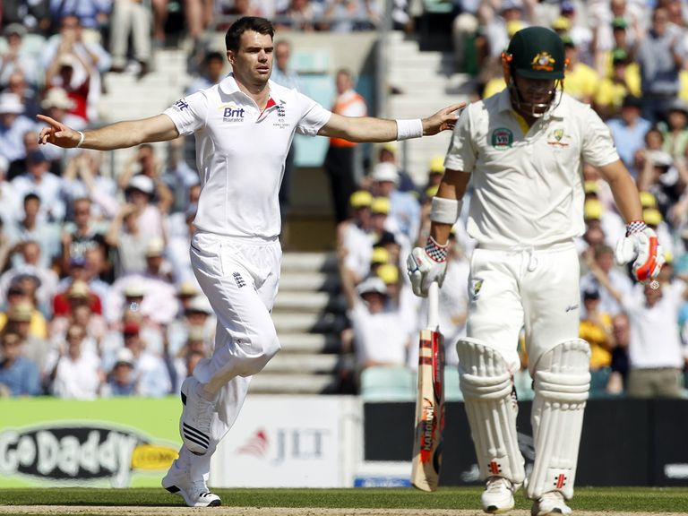 James Anderson: Has faith in England's bowling attack
