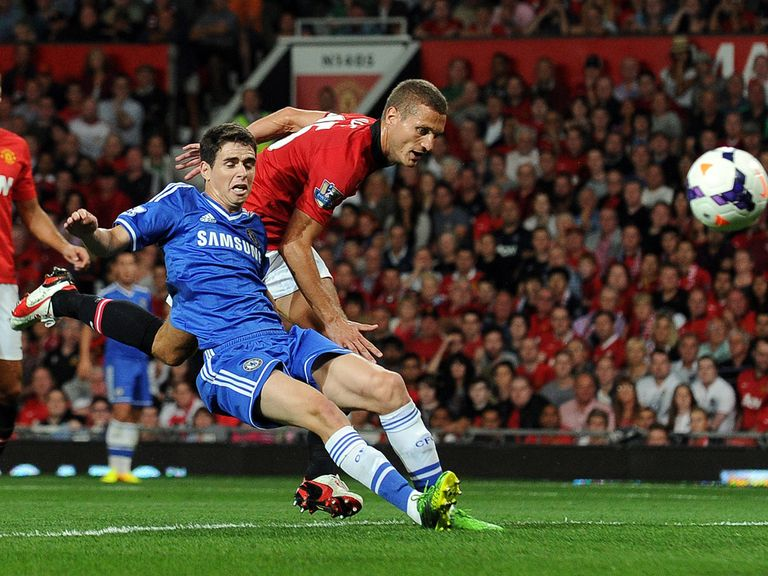 Chelsea face Manchester United on Super Sunday.