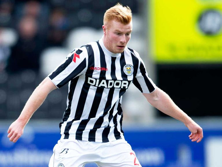 Conor Newton: Back on loan at St Mirren from Newcastle