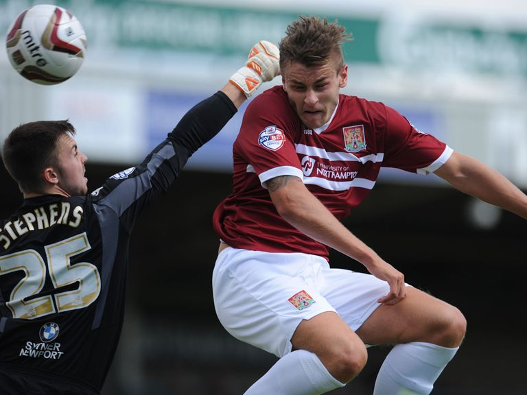 Jacob Blyth: Remaining with Northampton until November