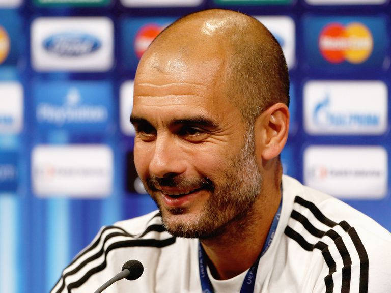 Pep Guardiola: Preparing for his side's visit to Man City