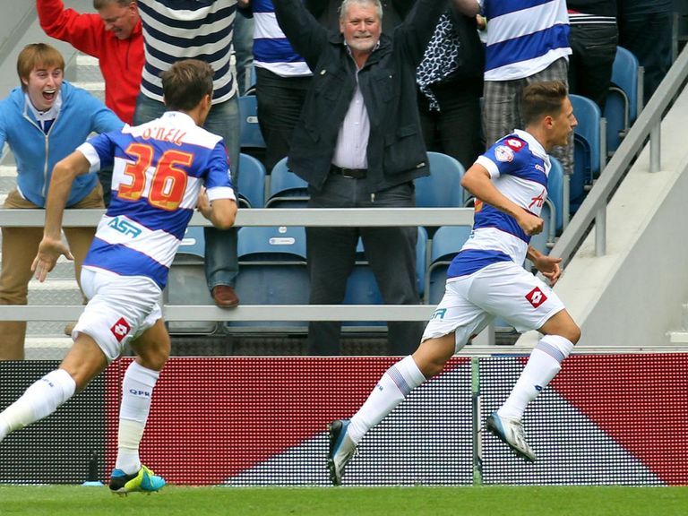 Tom Hitchcock scored a last-gasp winner for QPR