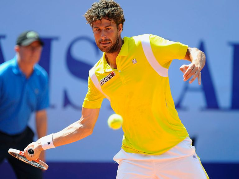 Robin Haase: Can play on the grass