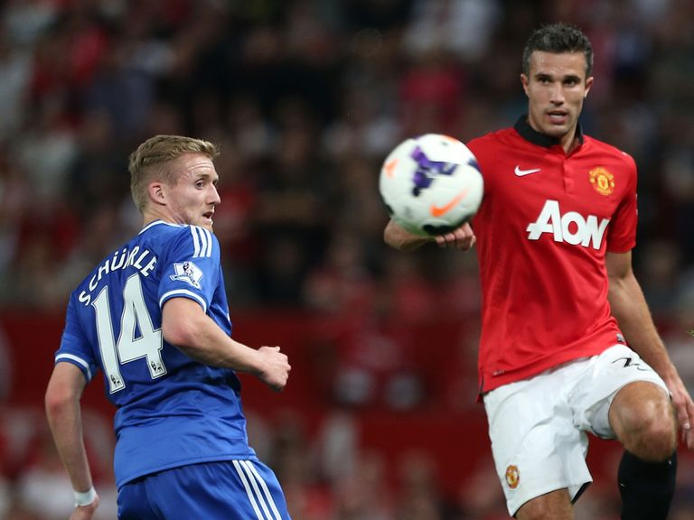 Robin van Persie: Continues to impress for Manchester United