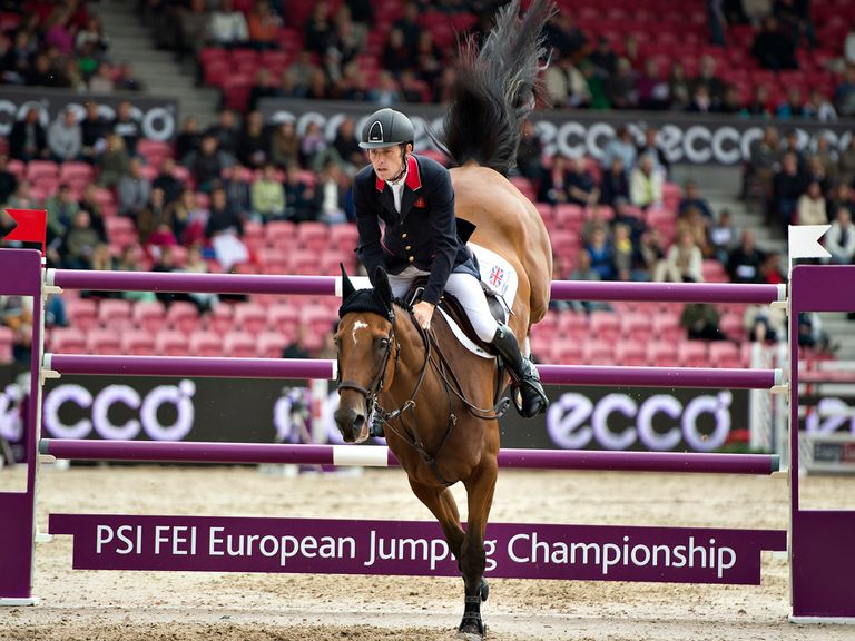 Scott Brash: Held his nerve to secure gold for GB