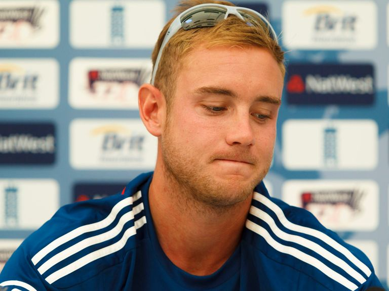 Broad: No comment on the Ashes victory celebrations