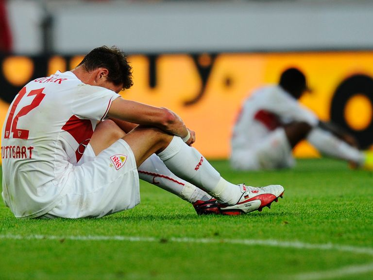 Stuttgart are out of the Europa League.