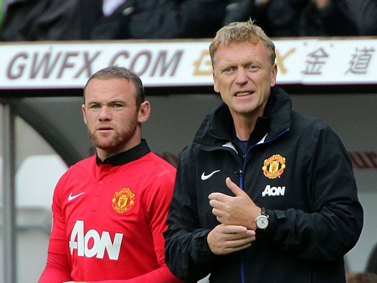 David Moyes: Handed backing by Wayne Rooney