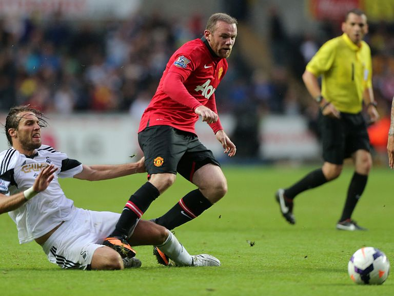Wayne Rooney: Returned to action in a United shirt as a substitute on Saturday
