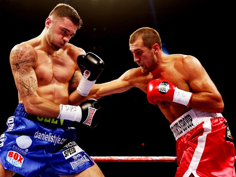 Nathan Cleverly (l): Beaten in four rounds by Sergey Kovalev