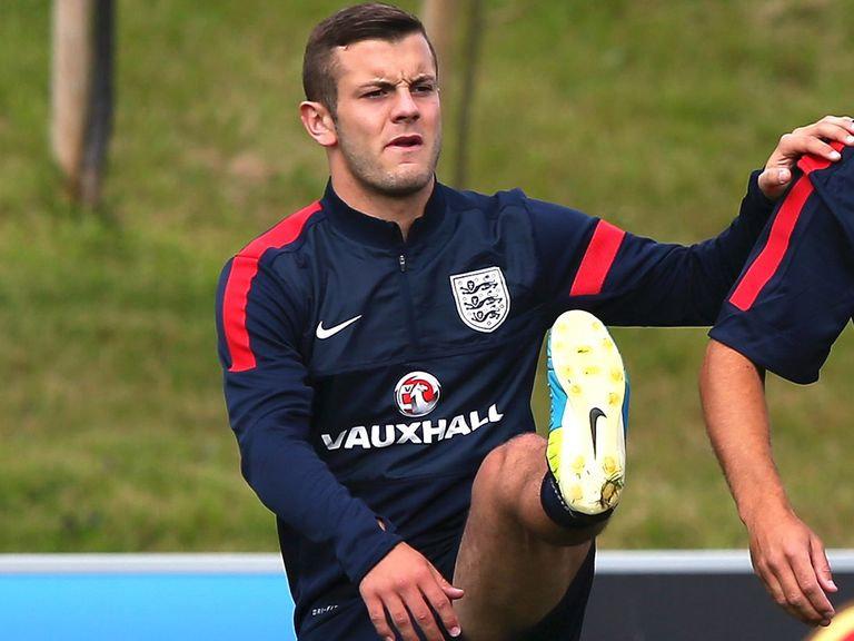 Jack Wilshere: Ready for tonight's friendly against Scotland