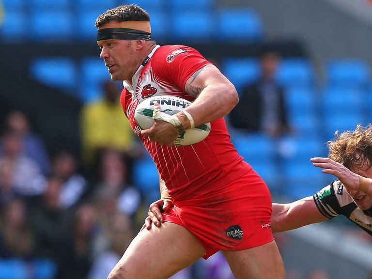 Jordan James: Leaves Salford for Gloucestershire