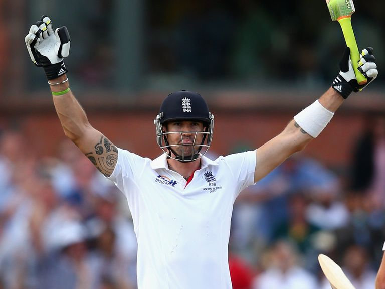 KP's Old Trafford ton helped England retain the Ashes