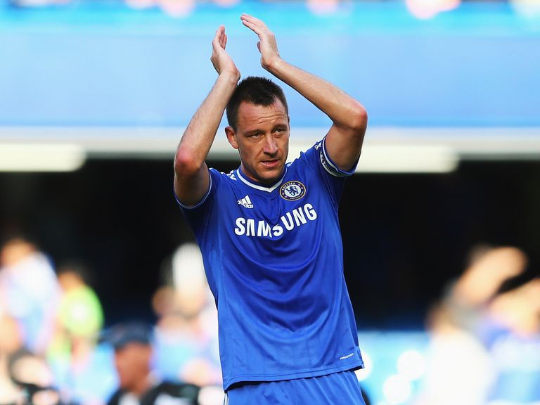 John Terry: Set to face Manchester United on Monday