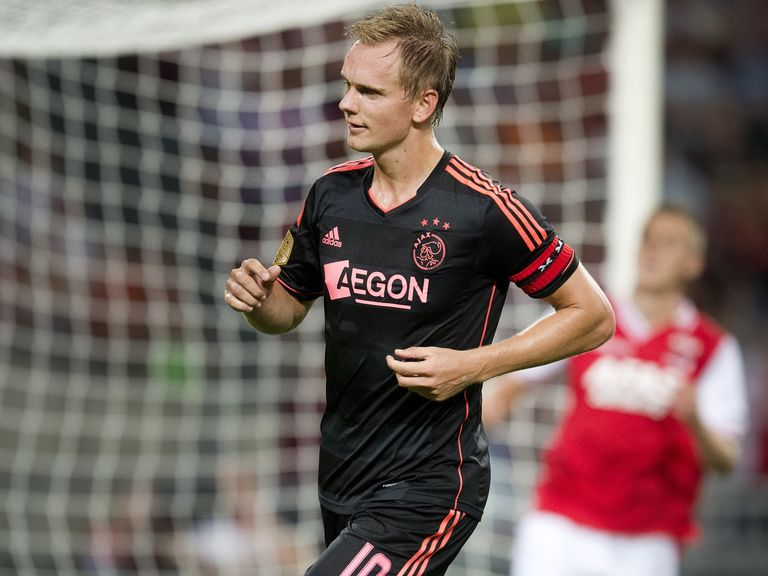 Siem De Jong: On the scoresheet for Ajax