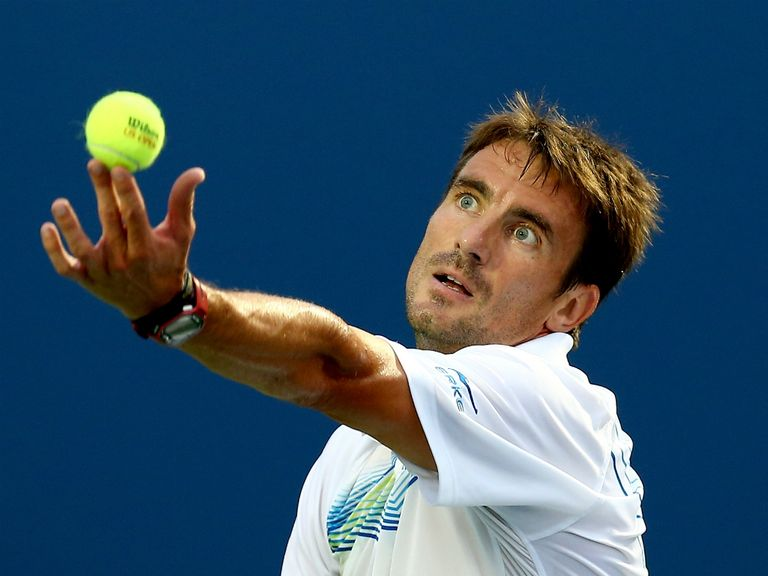 Tommy Robredo: Was forced to come from a set down