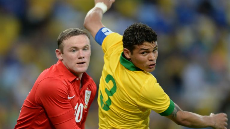 Thiago Silva: Would love to play alongside Wayne Rooney at PSG