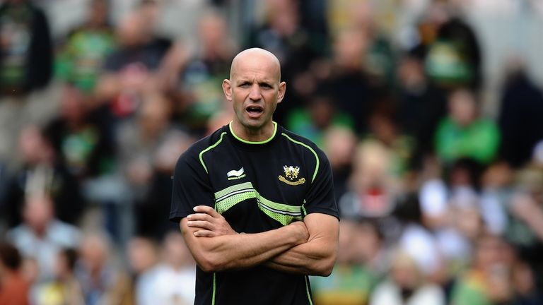 Jim Mallinder: Blames officials for late defeat