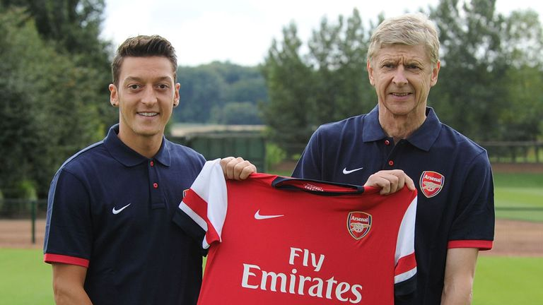 Mesut Ozil: Looking forward to next challenge with Arsenal