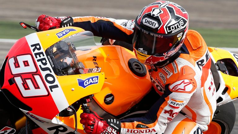 Marc Marquez: Fastest in Valencia on Friday