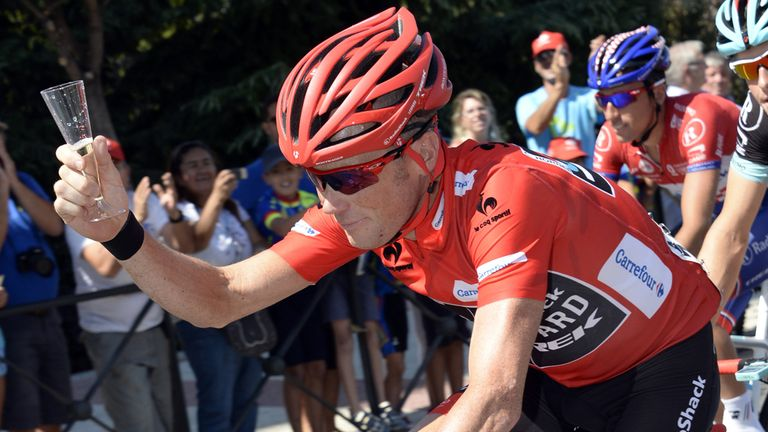 Chris Horner won the Vuelta a Espana