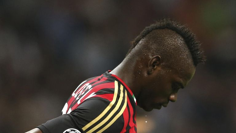 Mario Balotelli: Could miss Barcelona clash