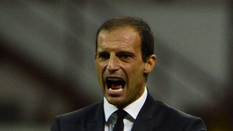 Massimiliano Allegri: Wants an improved performance