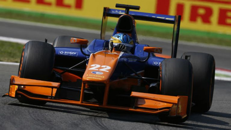 Adrian Quaife-Hobbs: Took maiden victory at Monza (GP2 Series Media)