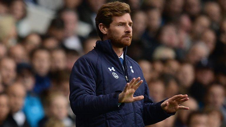 Andre Villas-Boas: Watches on as Tottenham beat Norwich