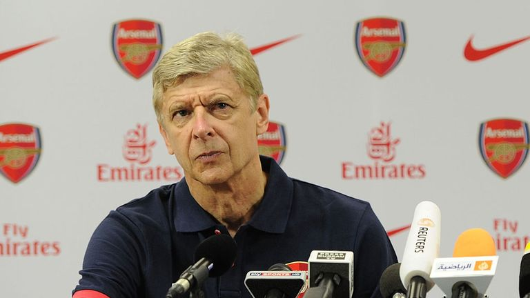 Arsene Wenger: Arsenal manager's current deal runs out next summer