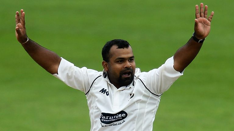 Ashar Zaidi: The left-arm spinner took four wickets against Yorkshire