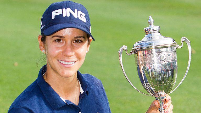 Azahara Munoz: Third Ladies European Tour title