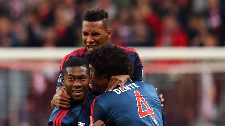 David Alaba: Opened the scoring early on for Bayern