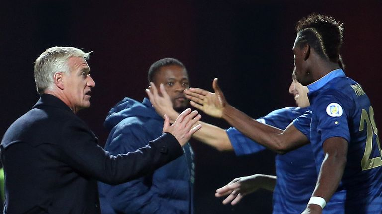 Didier Deschamps: Backing Patrice Evra's selection