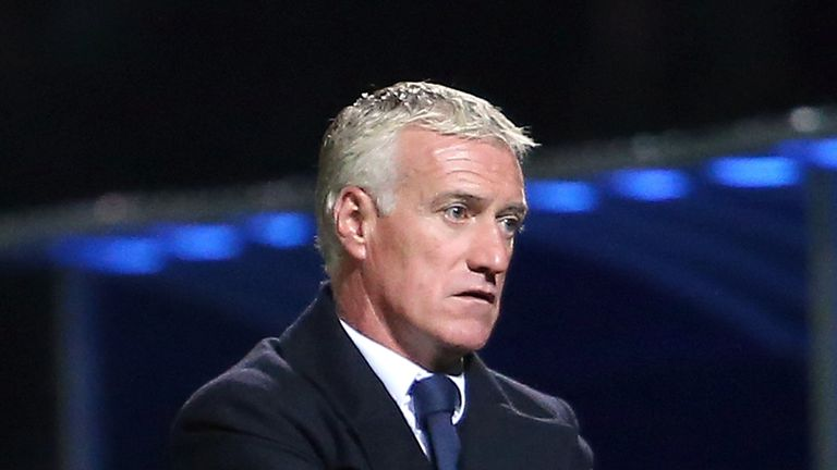 Didier Deschamps: France boss unhappy with FIFA's ranking system