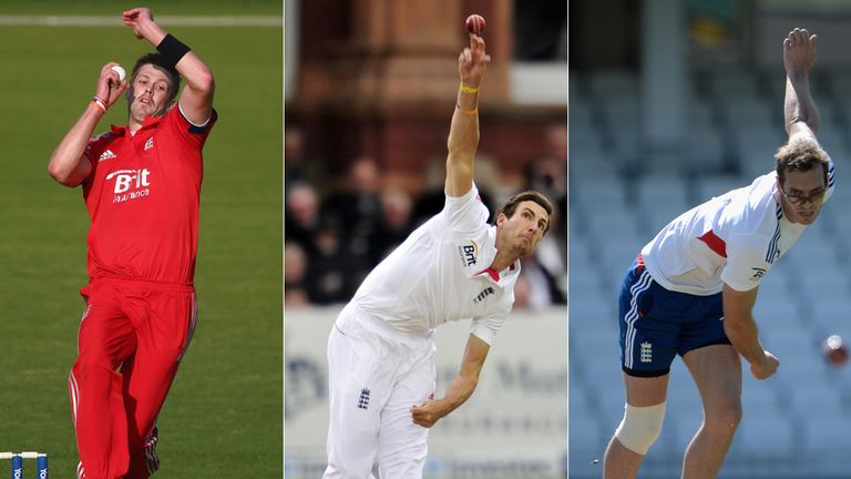 Rankin, Finn and Tremlett are vying for one spot, it would seem