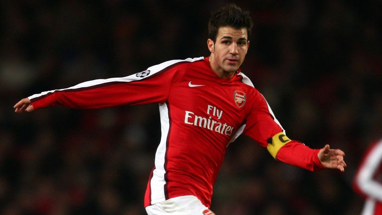 cesc fabregas to arsenal