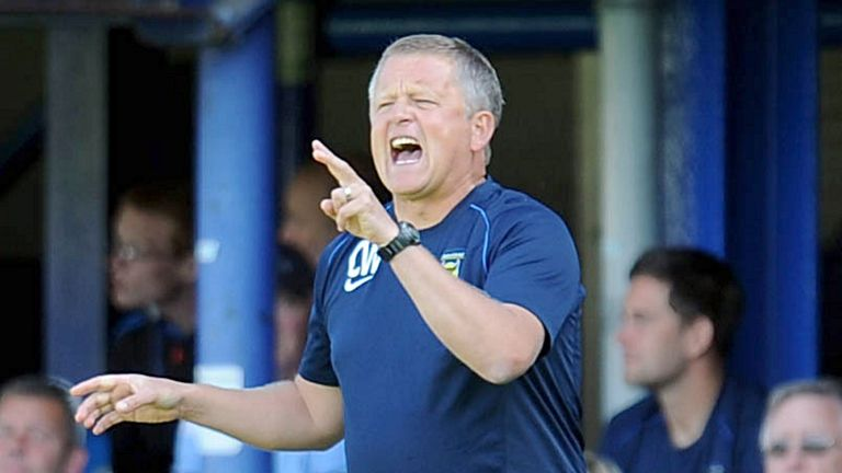Chris Wilder: Expected to take over at Northampton Town