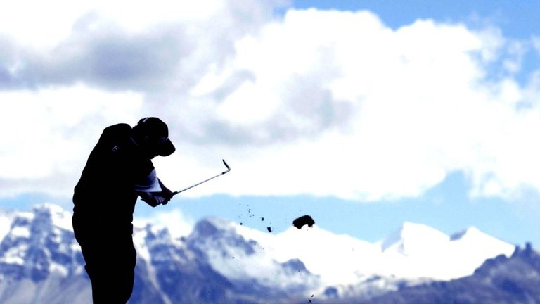 Crans: One of the most scenic venues in golf