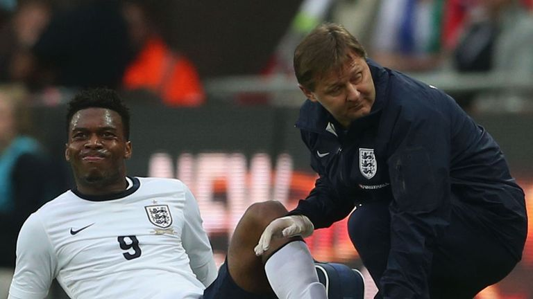 Daniel Sturridge: Unavailable for England's next big test