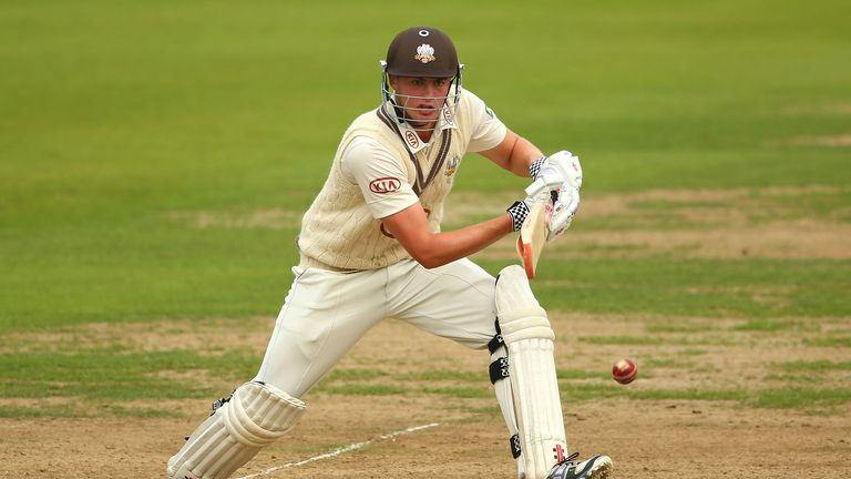 Dominic Sibley: Admits playing for England is his aspiration