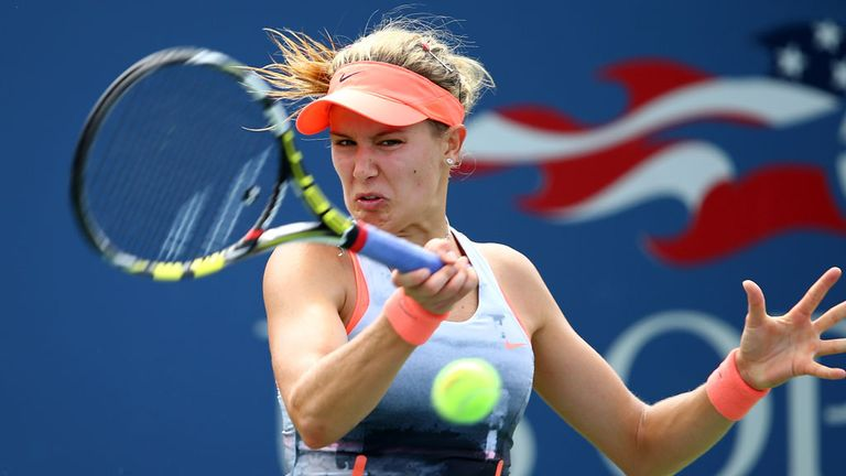 Eugenie Bouchard: The Canadian has risen 112 places in the WTA rankings