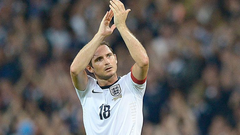 Frank Lampard: Confident England will qualify for the World Cup